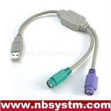 USB 1.1 para conectar el cable adaptador PS2 para teclado y ratón