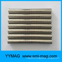 Small Disc Nickel D12.7mm NdFeB Magnet Button