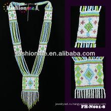Ожерелье из бисера национальный стиль мода 2013