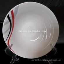 tazón de cerámica con etiqueta o OEM
