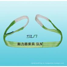 Eslingas de cinta de tipo ojo pesado 1-10 T Sln