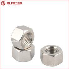 Aço inoxidável pesado hex porcas (ASTM A194-8M)