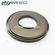 bandes de téflon de PTFE bandes de guidage de compresseur alternatif de pression de fluide