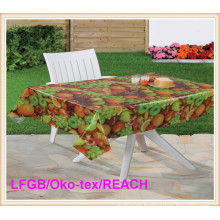 PVC/Plastic Printed Clear Tablecloth Factory