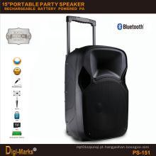 Orador a pilhas portátil à moda novo da fase da tevê de Bluetooth do mini
