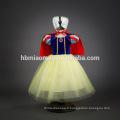 vêtements de soirée neige blanc cosplay robe film costume fille princesse robe pour la fête