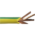 2/0 AWG green ground PVC stranded copper cable