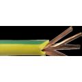 2/0 СРГ зеленый молотый ПВХ многожильный медный кабель