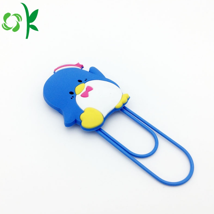 Custom Logo Design Silicone Bookmark