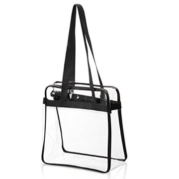 PVC Tote Shoulder Women Sport Gym Väska