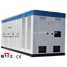 Conjunto de generador eléctrico a prueba de lluvia móvil 100KVA (GF80C)