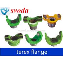 Terex dumper peças de transmissão flange do eixo de transmissão jugo-saída 23011919