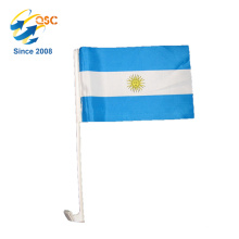 polyester flag custom Argentina national car flag