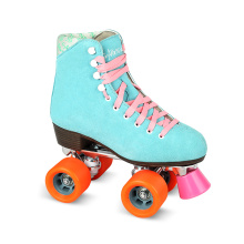 Soft Boot Quad Roller Skate for Adults (QS-36-1)