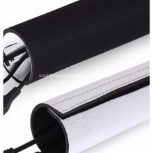 Black Neoprene Cable Braided Sleeving
