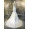 Melhores vendas de qualidade para vestidos de noiva sereia manga ilusão