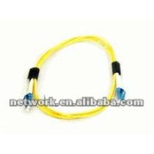 LC-LC Single mode Duplex cable de conexión de fibra óptica 1 metro