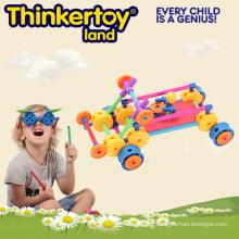 Pädagogische DIY 3D Auto Puzzle Spielzeug