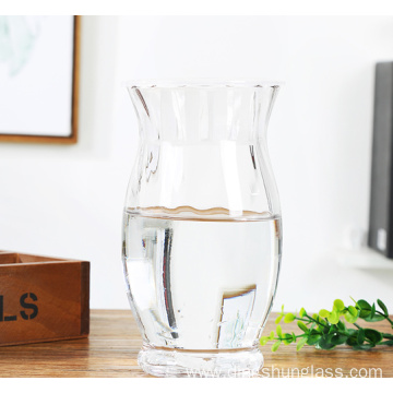 Creative large capacity glass vase
