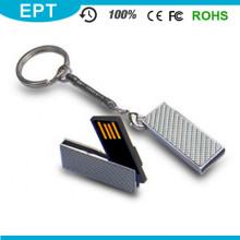 Mini Memory Stick USB Personalizado com Porta-Chaves (EM608)