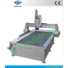 Cambiador de herramientas automático CNC Router Wood Carving Machine para la venta con la bomba de vacío Becker