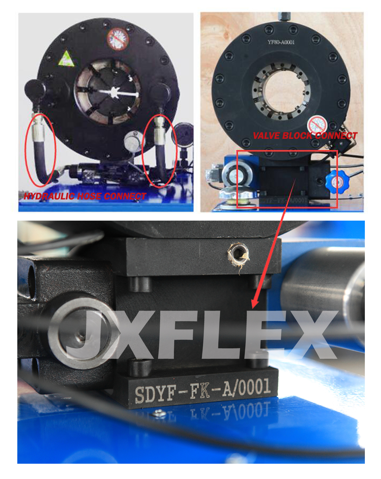 HYDRAULIC CONNECT-JX