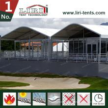 40X100m große Zelte für Sporthallen