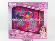 Kids play toys Flashing Hair Accessories/Ornaments/Beaty Sets with Bag