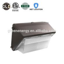 TOP venta de alta calidad ETL, DLC 60W LED paquete de pared luz