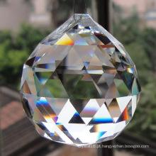 Grânulos de cristal azul para candelabros e enfeites de pingente de bolas de cristal (ks28039)