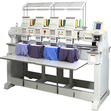 4 Heads embroidery machine Computer T-shirt Embroidery Machine 12 Colors/needles china price
