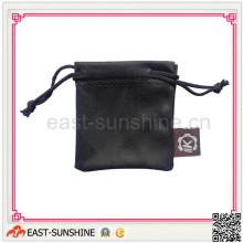 Soft Touch y caja fuerte 100% Microfiber jewell bolsa con logotipo (DH-M0030)