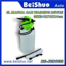 PRO Tragbare Hochdruckreiniger Power Pump Car Jet Waschbürste Schlauch Lanze 5L Unterlegscheibe