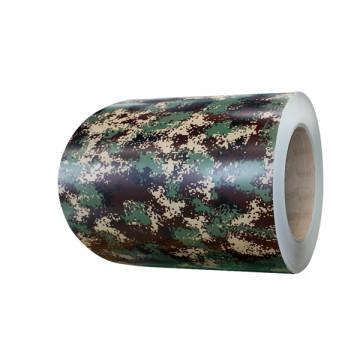 Camouflage aluminum cladding sheets