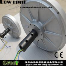 Faible couple disque sans noyau générateur à aimant Permanent par l'énergie éolienne