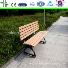 wpc outdoor landscape bench