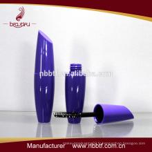 Emballage cosmétiques en plastique pour cosmétiques en tube de mascara et majuscules en mascara plastique PES23-10