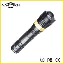 Lampe de poche en aluminium rechargeable pour éclairage de camping (NK-2668)