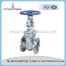 Válvula de compuerta de fundición de acero al carbono ANSI