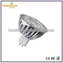 Spotligt de LED 3W MR16 alumínio fundido