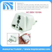 AU UK US EU to Italy AC Power Adapter Travel Plug