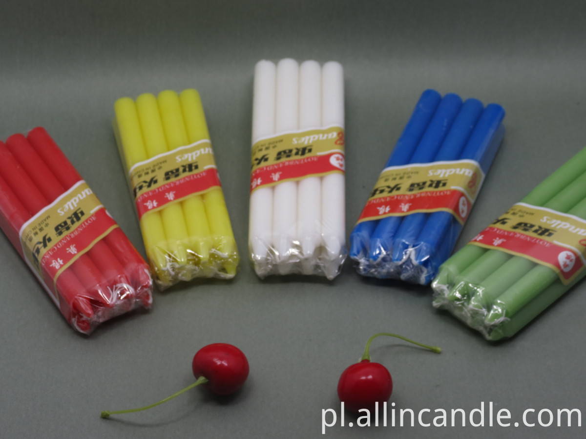 color stick candle (111)