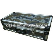 Aluminum gun case,aluminum frame gun case,camouflage cloth surface gun case