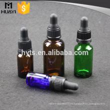 30мл многоразового косметические эфирное масло пустая Янтарная стеклянная бутылка