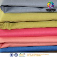 tissu de coton 65/35 poly meilleur vêtement Italie