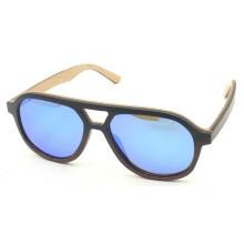 Unisex Sunglasses Gold Mirror Lens