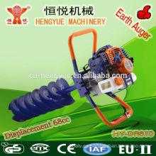 68cc HY-DR810 aire acondicionado motor de 2 tiempos hielo taladro máquina hielo potencia del taladro