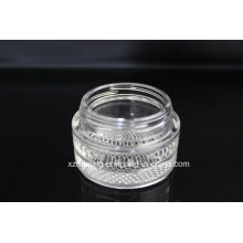 60ml 2oz Cosmetic Packing Glass Cream Jar