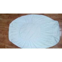 Защитная простыня для матраса Водонепроницаемая покрывающая кровать Подогнанный лист