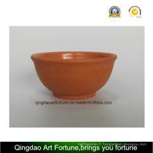 Cuvette en céramique en argile extérieure-naturelle-Medium